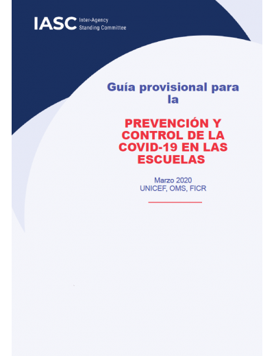 UNICEF Actions for COVID-19 Prevention and Control in Schools